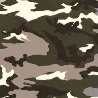 7W449-10 Thermo Transfer Paper Camouflage grün